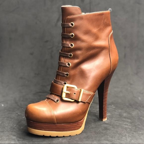 cf43c7b1 Fendi Shoes | Platform Ankle Boots | Poshmark